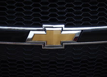 Chevrolet logo Stock Images