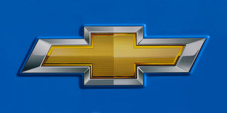 Chevrolet Logo Royalty Free Stock Photo