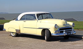 chevrolet 1951 luxe Bel Air de Arkivfoton