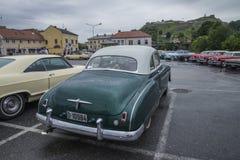 chevrolet lyx- kupé 1950 Arkivbild