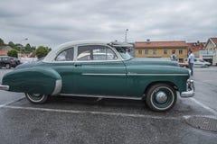 chevrolet lyx- kupé 1950 Arkivfoton