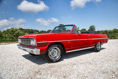 1964 Chevrolet Malibu convertible Stock Images