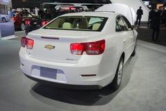 Chevrolet Malibu LT 2015 on display Royalty Free Stock Photo