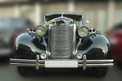 Chevrolet Master De luxe 1938 of the black. Picture of the black 1938 Chevrolet Stock Images