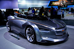 Chevrolet MI-Ray Concept Car Stock Photo