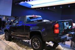 Chevrolet na exposição na feira automóvel 2017 internacional norte-americana Imagem de Stock