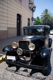 1950 Chevrolet negro Imagen de archivo
