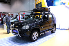 Chevrolet Niva Stock Photography