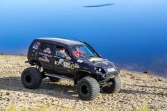 Chevrolet Niva Fotografering för Bildbyråer