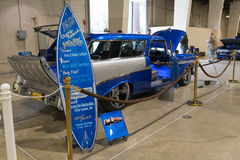 Chevrolet Nomad on display Stock Photography