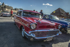 1957 Chevrolet-Nomadestationcar Stock Foto's