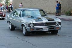 Chevrolet Nova SS 350 car on display Royalty Free Stock Photos