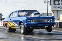 Chevrolet-Nova Wheelie Stockbild