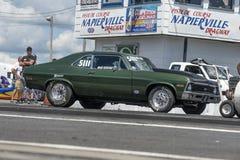 Chevrolet nowa na śladzie Zdjęcie Royalty Free