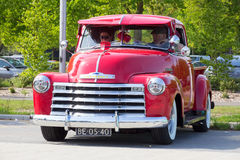 1951 Chevrolet-Oogst Royalty-vrije Stock Foto