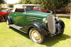 1934 Chevrolet-Open tweepersoonsauto Stock Afbeeldingen