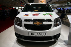 Chevrolet Orlando at Paris Motor Show Royalty Free Stock Photography