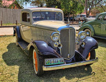 1932 Chevrolet Pięć okno Rumbleseat Coupe Fotografia Royalty Free