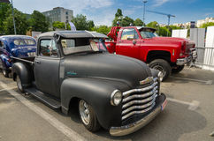 Chevrolet pickup 1953 Stock Photos