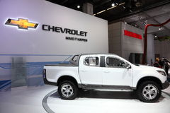 Chevrolet Pickup Truck Colorado Royalty Free Stock Image