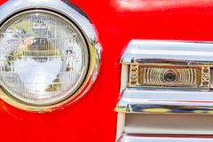 1950 Chevrolet 3100 pickup truck royalty free stock photography