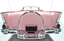 Chevrolet. Pink retro Bel Air 1957 Stock Photography