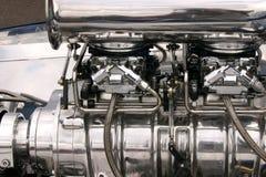 Chevrolet que compite con el motor Imagen de archivo