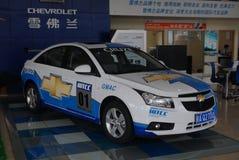 Chevrolet 4S shoppar hörnet Arkivfoto