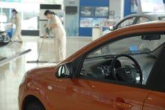 Chevrolet 4S shoppar hörnet Royaltyfria Foton