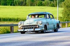Chevrolet 2103 sedan 1953 för 4 D Royaltyfria Bilder