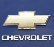 Chevrolet sign Royalty Free Stock Images