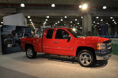 Chevrolet Silverado. NEW YORK - APRIL 11: Chevrolet Silverado at the 2012 New York International Auto Show running from April 6-15, 2012 in New York, NY Royalty Free Stock Photography