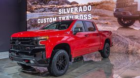 2019 Chevrolet Silverado ZL1 Trail Boss, NAIAS Royalty Free Stock Image