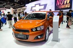 Chevrolet Sonic na 30a expo do motor de Tailândia fotografia de stock