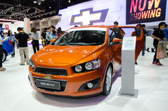 Chevrolet Sonic in 30th Thailand Motor Expo Stock Photography