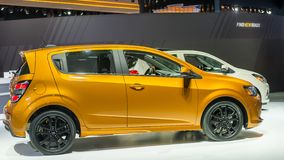 Chevrolet 2018 Sonic Turbo, NAIAS fotografie stock