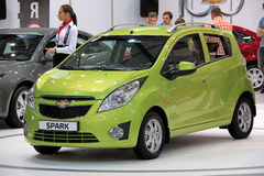 Chevrolet Spark Royalty Free Stock Images