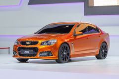 Chevrolet SS car on display at The 30th Thailand International Motor Expo Royalty Free Stock Photography
