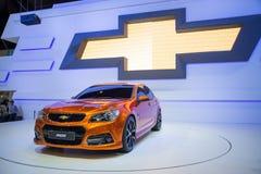 Chevrolet ss 2014 su esposizione Immagini Stock