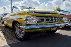 Chevrolet - Stary zegar Fotografia Stock