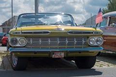 Chevrolet - Stary zegar Zdjęcie Stock