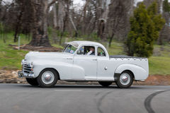 Chevrolet Stylemaster Pickup truck driving on country road Royalty Free Stock Photo