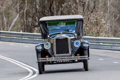1925 Chevrolet Superior K Tourer. Adelaide, Australia - September 25, 2016: Vintage 1925 Chevrolet Superior K Tourer driving on country roads near the town of Royalty Free Stock Image
