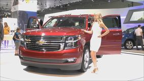 Chevrolet Tahoe stock video