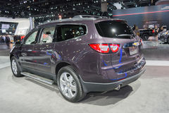 Chevrolet Traverse 2015 on display Royalty Free Stock Photo
