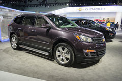 Chevrolet Traverse 2015 on display Royalty Free Stock Photography