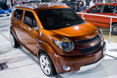 Chevrolet TRAX Concept Car  - Front View - MPH Royalty Free Stock Image