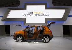 Chevrolet 2015 Trax en el salón del automóvil 2014 del International de Nueva York Foto de archivo