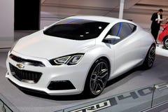 Chevrolet Tru 40-talDetroit Auto Show Arkivbilder
