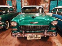 Chevrolet verde classico 210 Fotografia Stock Libera da Diritti